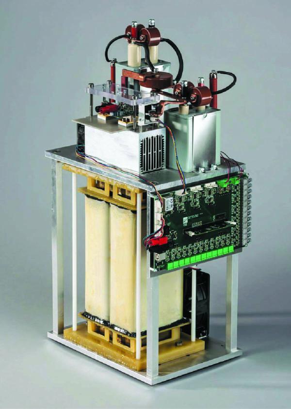 Конструкция повышающего конвертера 28 кВтРис. 12. Конструкция повышающего конвертера 28 кВт