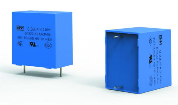 Пленочный конденсатор X2 серии B43