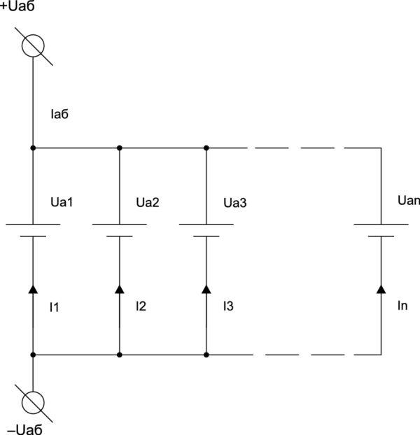 Параллельное соединение аккумуляторов в АБ