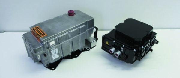 Сравниваемые преобразователи силовой передачи (инвертор 200 кВт на основе Si IGBT и инвертор 220 кВт на основе SiC MOSFET)
