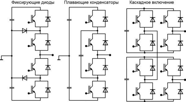 Примеры последовательного соединения IGBT без опасности критического распределения напряжения