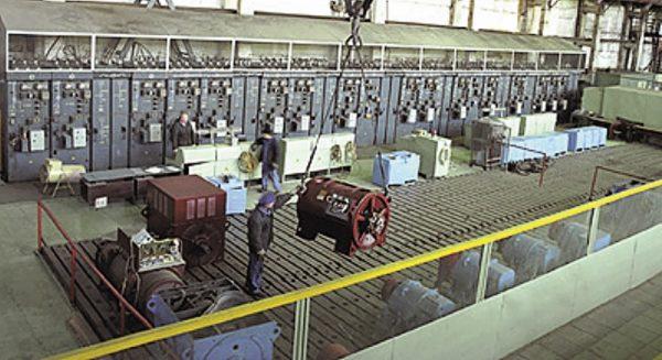 В цехе по производству электродвигателей ОАО Сафоновский электромашиностроительный завод»