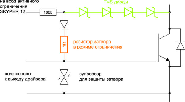 Схема активного ограничения