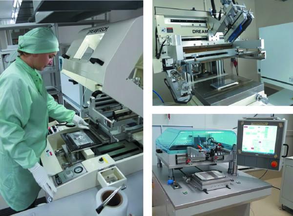 Оборудование для нанесения металлизации на керамические подложки