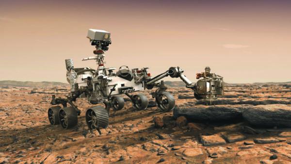 Ровер Mars 2020 (представление NASA)