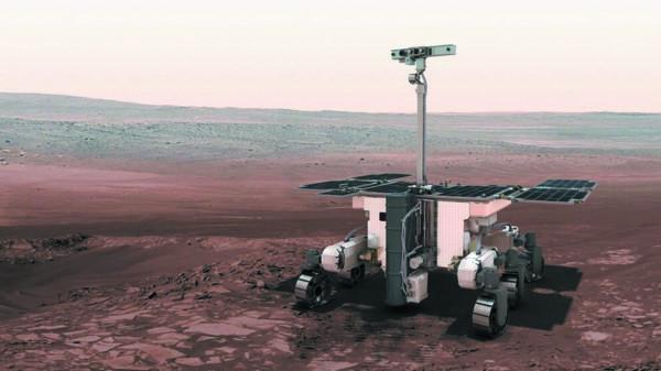 Автоматический марсоход миссии ExoMars 2020 (источник: ESA)