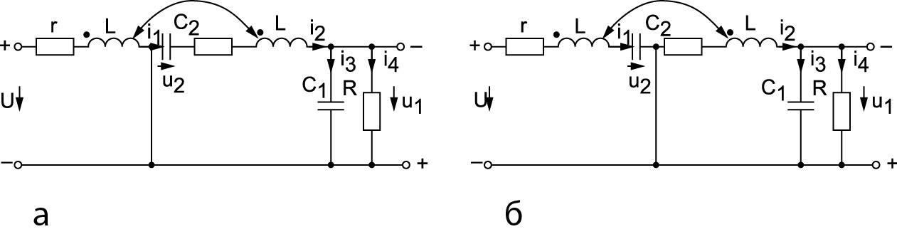 Расчетная схема преобразователя Чука