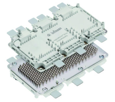 Модуль HybridPACK Drive (HPDrive) в корпусе