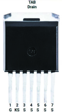 Корпус SiC MOSFET с кельвиновским выводом истока