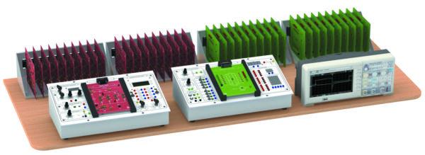 Внешний вид комплекта учебного оборудования на базе станций «Профи-А» и «Профи-Ц»