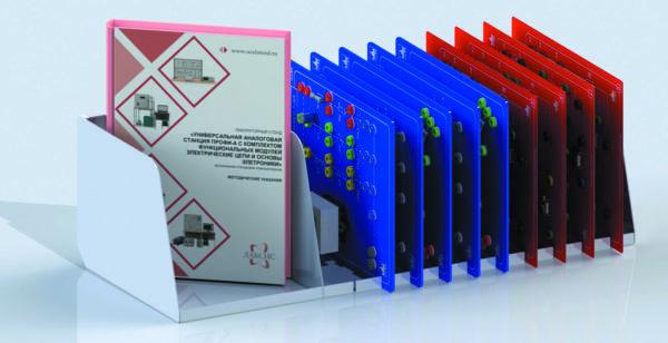 Состав комплекта функциональных модулей «Электрические цепи и основы электроники»