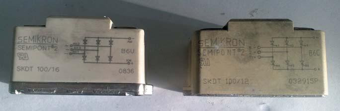 Фальшивый и оригинальный модули SKDT 100