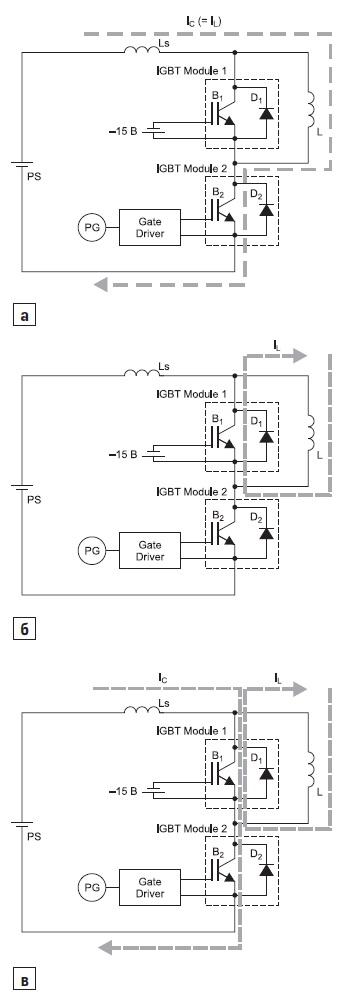 Ток коллектора транзистора В2