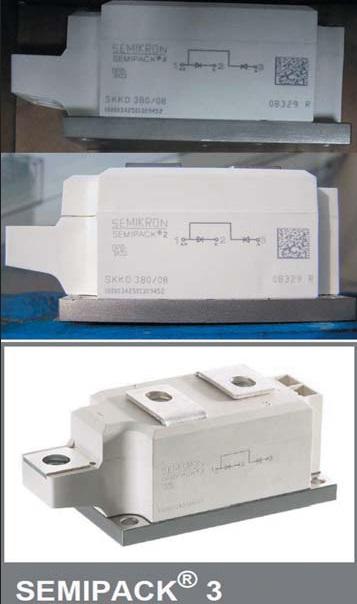 Фальшивые модули SKKD 380 и фрагмент спецификации