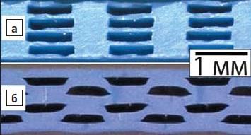 Разновидности каналов в LTCC-структурах дляохлаждающей жидкости