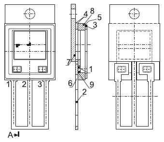 Конструкция металлокерамического корпуса ТО(КТ43)