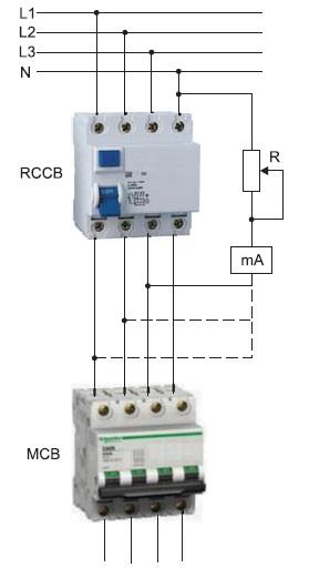 Метод измерения фонового тока утечки через УЗО