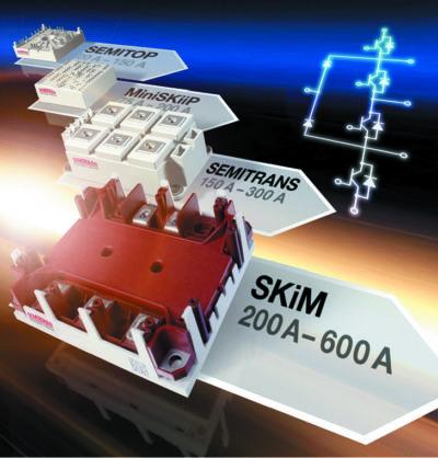 Конструктивы специализированных модулей IGBT конфигурации MLI