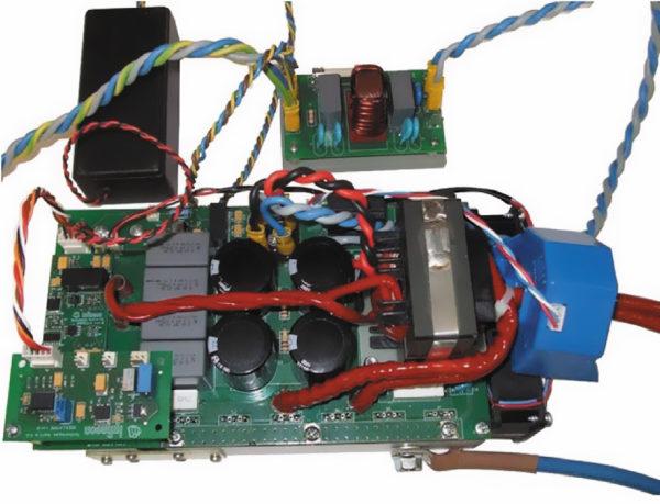 Второй демонстрационный прототип 4,5-кВт сварочного аппарата