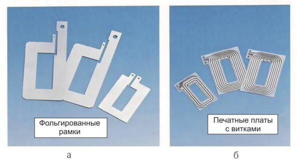 Типы проводящих слоев, применяемые в планарных трансформаторах Payton