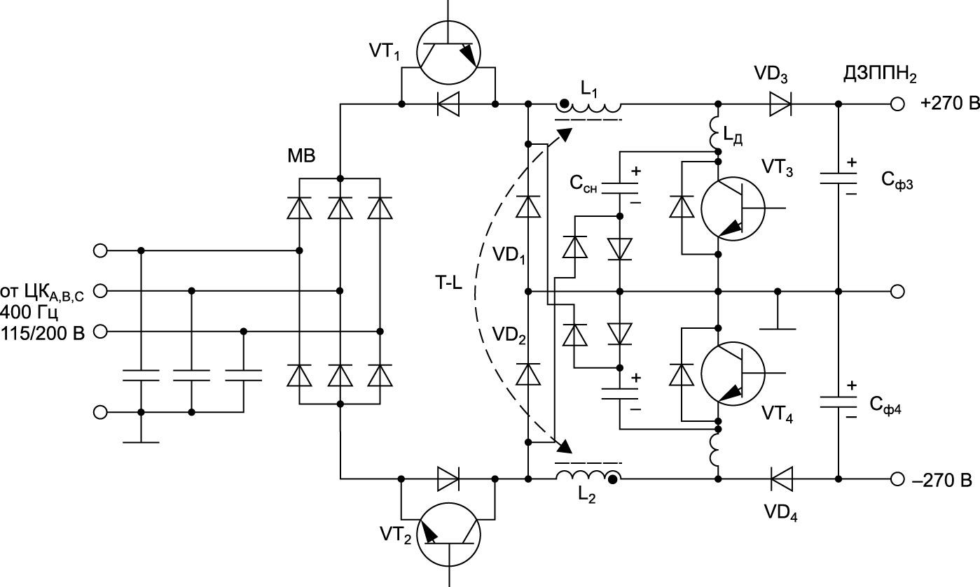 Схема импульсного модулятора