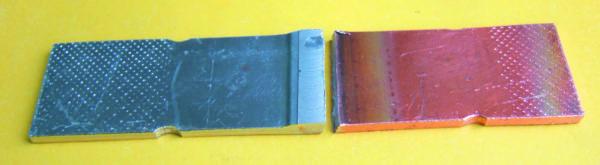 Результат испытания на статическое растяжение образца сварного шва АМг5-М1
