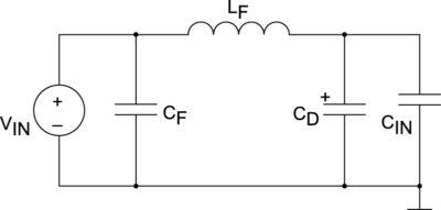 LC-фильтр с демпфирующим конденсатором