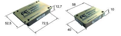 Размеры и внешний вид модулей МДМ30 и МДМ30-П
