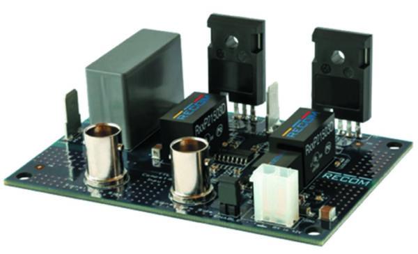 Внешний вид отладочной платы R-REF01-HB (транзисторы не входят в комплект)