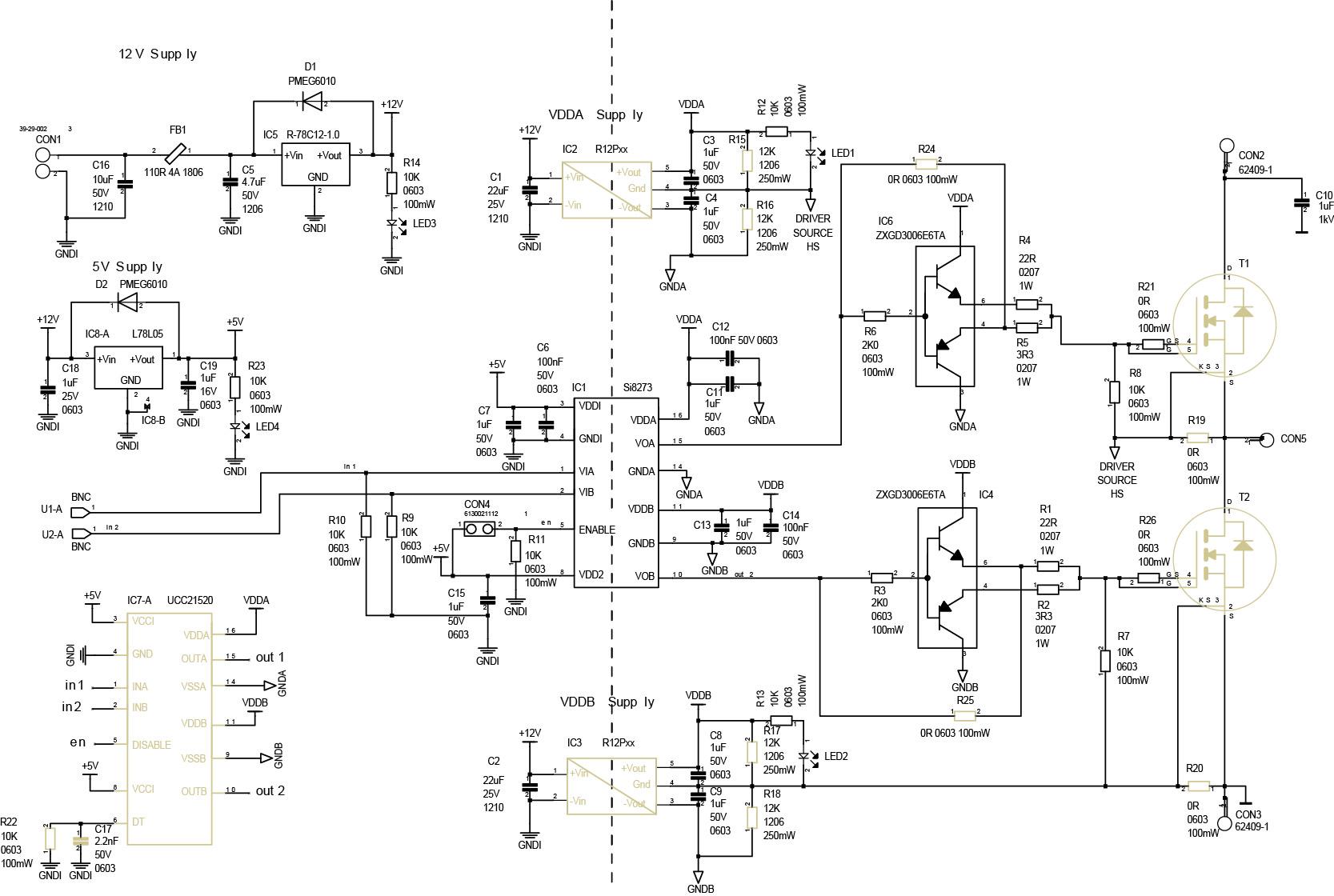 Схема отладочной платы R-REF01-HB