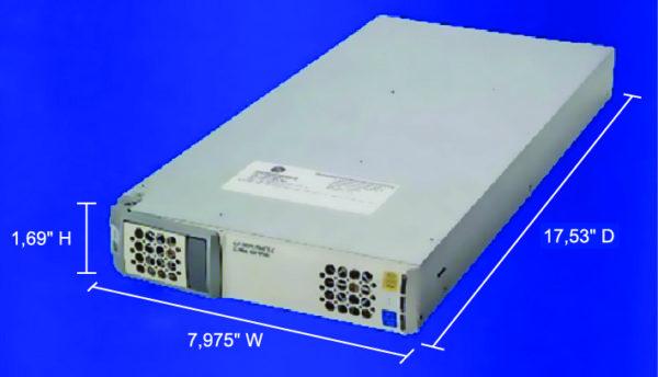 Габаритные размеры модулей серии GP100H3