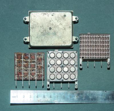Примеры силовых транзисторных сборок на биполярных транзисторах 2Т808А, 1Т906А, 2Т836Б