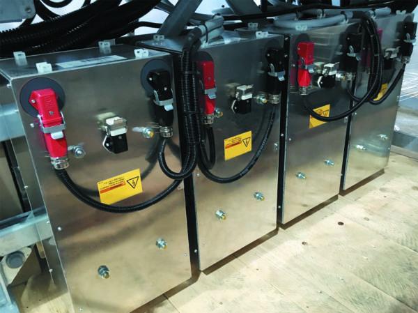 Подключение источника резервного питания для систем управления ветровых турбин соединителем Han Q 1/0