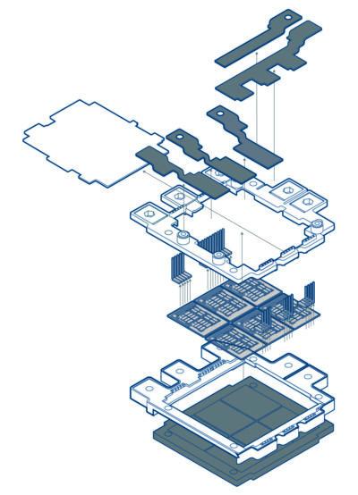 Модель IGBT-модуля Dynex