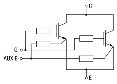 Развязка IGBT при паралелльном включении
