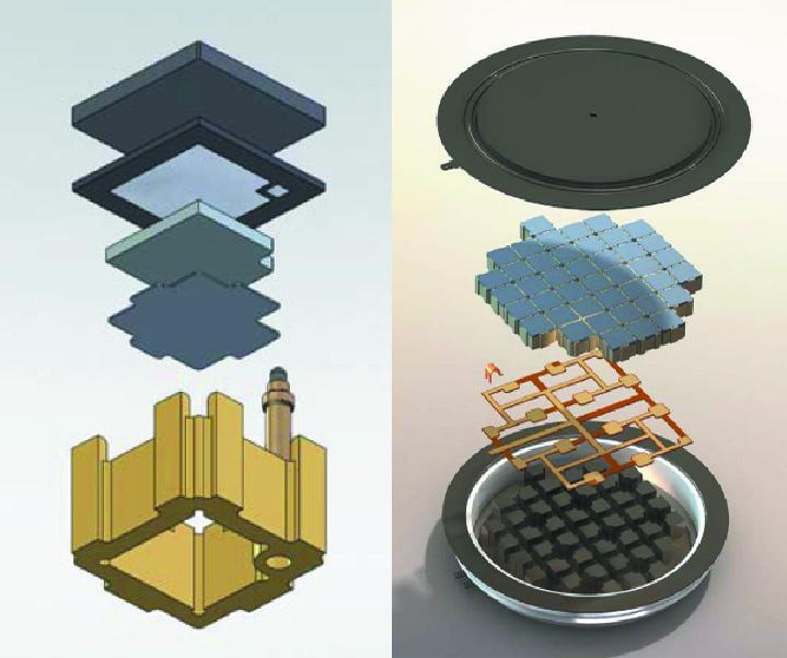 Размещение кристалла в ячейке