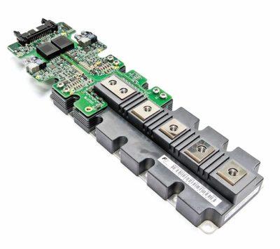 Внешний вид драйвера управления затвором для IGBT-модулей в корпусе Primepack