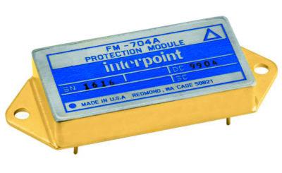 Внешний вид конструкции модуля помехоподавляющего фильтра и ограничителя напряжения FM–704A