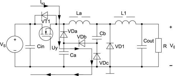 НПН1 с пассивной снабберной цепью