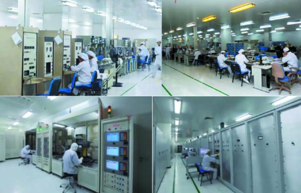 Интерьеры заводских помещений TECHSEM