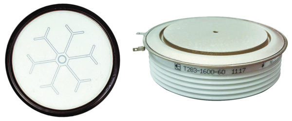 Полупроводниковый элемент и тиристор Т283-1600-60