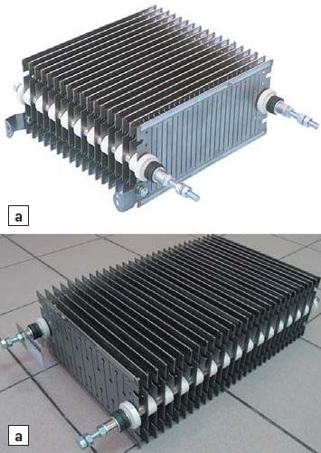 Стандартная конструкция резисторного блока TERA