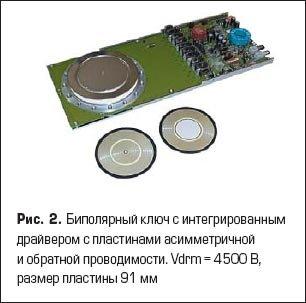 Биполярный ключ с интегрированным драйвером с пластинами асимметричной и обратной проводимости