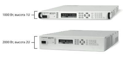 ИП семейства APS Keysight Technologies выдают мощность 1 и 2 кВт с возможностью увеличения до 10 кВт при параллельном соединении