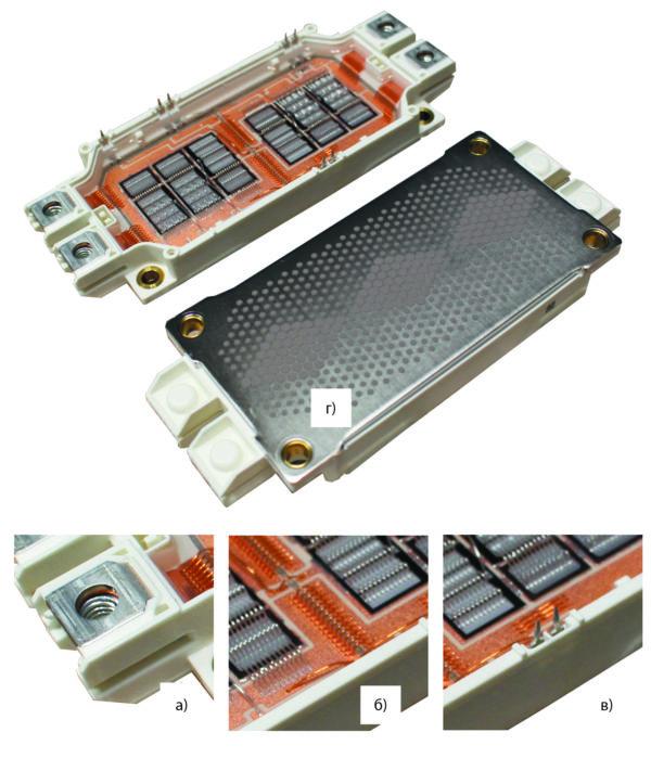 Усовершенствования в конструкции силового модуля EconoDUAL3 (600 А/1200 В), способствующие увеличению срока службы