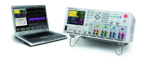Анализатор ИП постоянного тока Keysight N6705B для эмуляции маломощных АКБ
