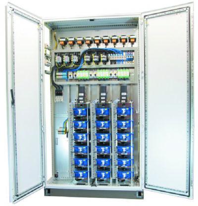 Шкаф преобразователя напряжения с несколькими образцами продукции TTW