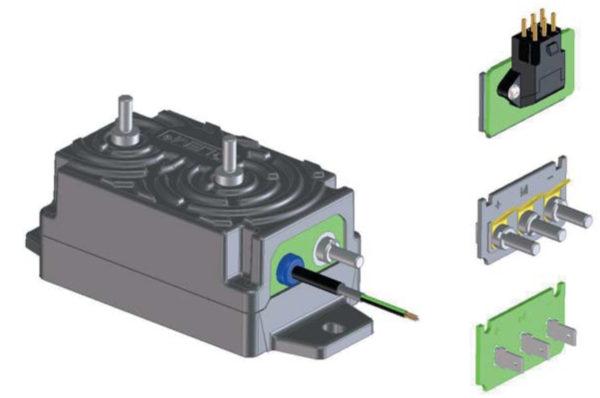 Внешний вид датчика DVL с различными вариантами выходов