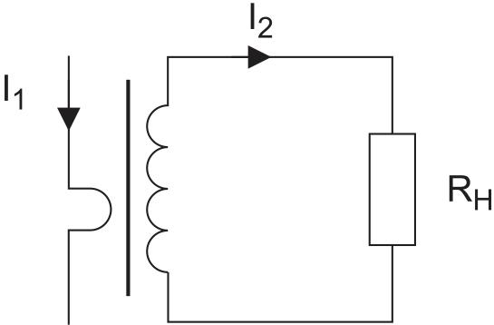 Схема трансформатора тока