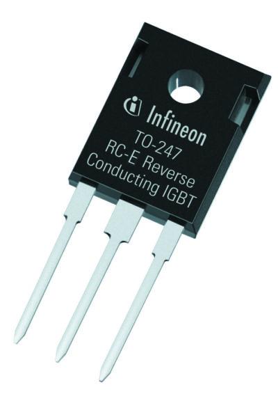 IGBT серии RC-E выполнены в популярном корпусе TO-247, что позволяет легко заменить или модернизировать уже выпускаемые устройства